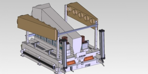 Custom UV curing systems for converting lines